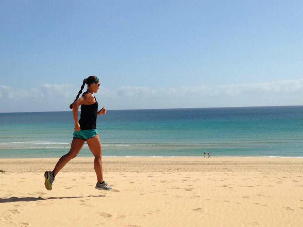 Monika Kalbacher: Liebe Grüße von einem der schönsten Orte hier in Fuerteventura! Also ich bin wirklich froh, dass ich gerade auf Sand statt auf Schnee laufe. https://www.facebook.com/kalbacher.monika?fref=photo, © Diverse  (27.01.2015)