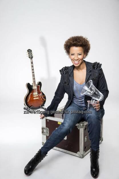 Arabella Kiesbauer: ATV Privat TV GmbH & Co KG: ATV überträgt die Amadeus Austrian Music Awards, © Aussendung (29.01.2015)