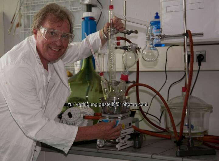 Professor Zack mit seiner zauberhaften Physikshow bei der Siemens Kindermatinee.