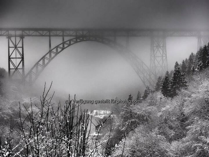 Brücke Winter