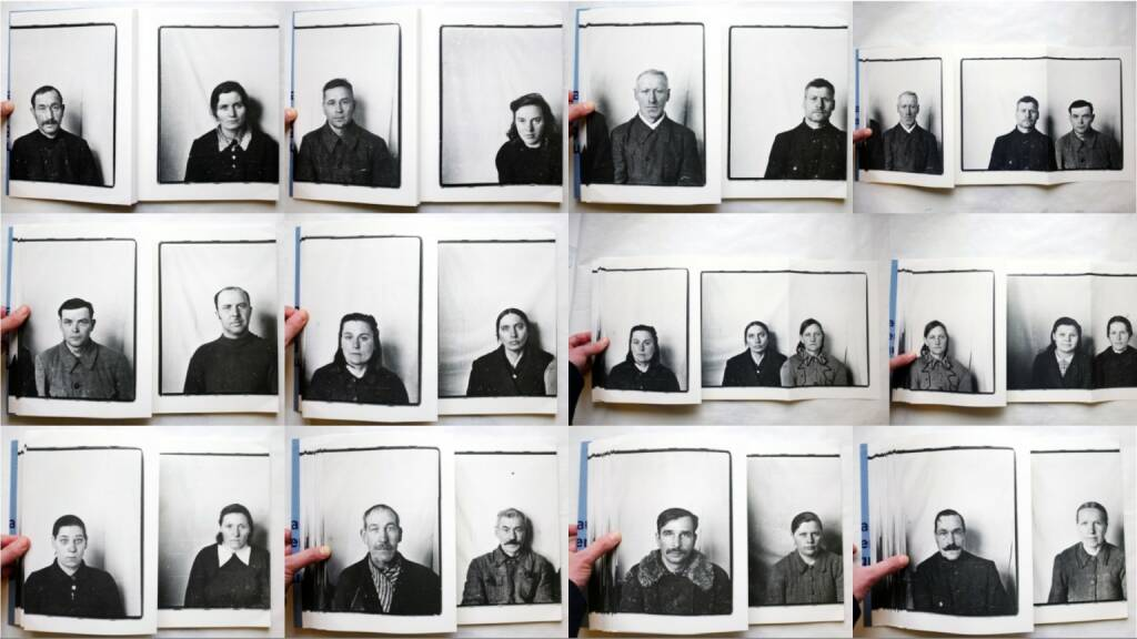 Vytautas V. Stanionis - Nuotraukos dokumentams / Photographs for Documents, Kaunas Photography gallery 2014, Beispielseiten, sample spreads - http://josefchladek.com/book/vytautas_v_stanionis_-_nuotraukos_dokumentams_photographs_for_documents, © (c) josefchladek.com (02.02.2015)
