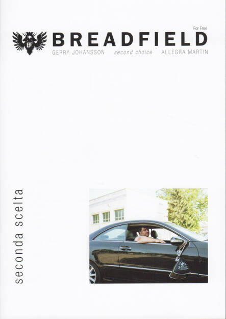 Gerry Johansson / Allegra Martin - Breadfield - Second Choice, Breadfield Press 2014, Cover - http://josefchladek.com/book/gerry_johansson_allegra_martin_-_breadfield_-_second_choice, © (c) josefchladek.com (02.02.2015)