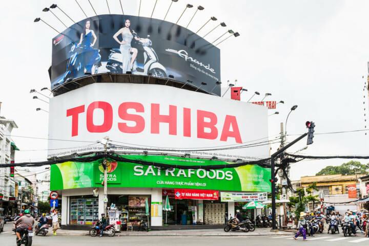 Toshiba, <a href=http://www.shutterstock.com/gallery-1070501p1.html?cr=00&pl=edit-00>Anton_Ivanov</a> / <a href=http://www.shutterstock.com/editorial?cr=00&pl=edit-00>Shutterstock.com</a>, Anton_Ivanov / Shutterstock.com