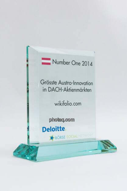 Grösste Austro-Innovation in DACH-Aktienmärkten: wikifolio.com, © photaq/Martina Draper (03.02.2015)