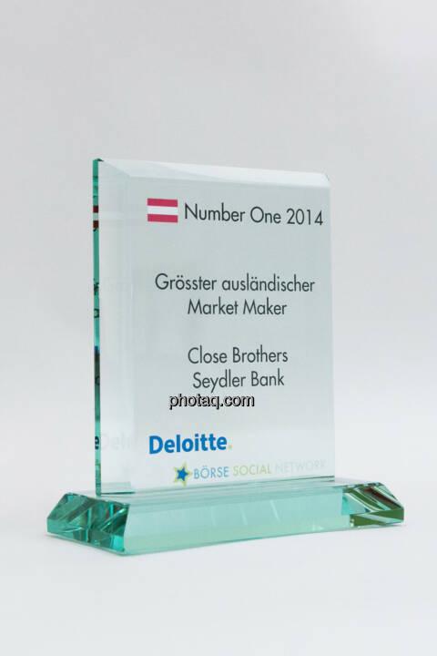 Grösster ausländischer Market Maker: Close Brothers Seydler Bank