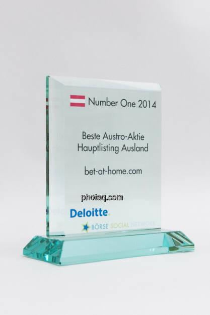 Beste Austro-Aktie Hauptlisting Ausland: bet-at-home.com, © photaq/Martina Draper (03.02.2015)