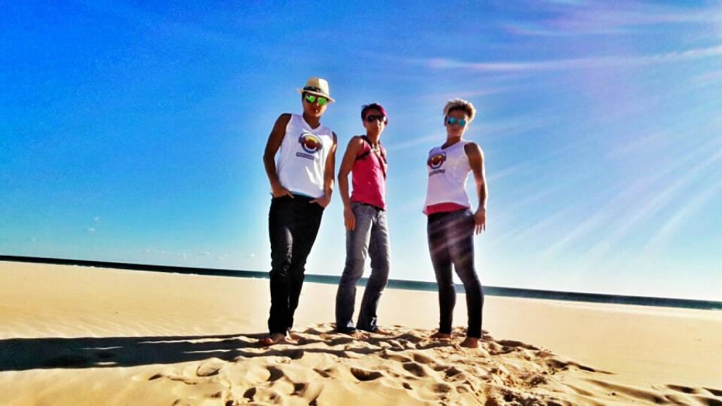 Sonne - Annabelle Mary Konczer, Cornelia Köpper, Elisabeth Niedereder: Tristyle Runplugged Runners on Tour (04.02.2015)