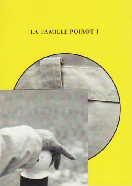 Ana Zaragoza - La Famille Poirot I, Caravanbook 2014, Cover - http://josefchladek.com/book/ana_zaragoza_-_la_famille_poirot_i, © (c) josefchladek.com (06.02.2015)