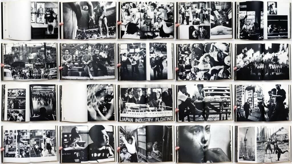 William Klein - Tokio (Tokyo), Nannen-Verlag 1965, Beispielseiten, sample spreads - http://josefchladek.com/book/william_klein_-_tokio_tokyo, © (c) josefchladek.com (08.02.2015)