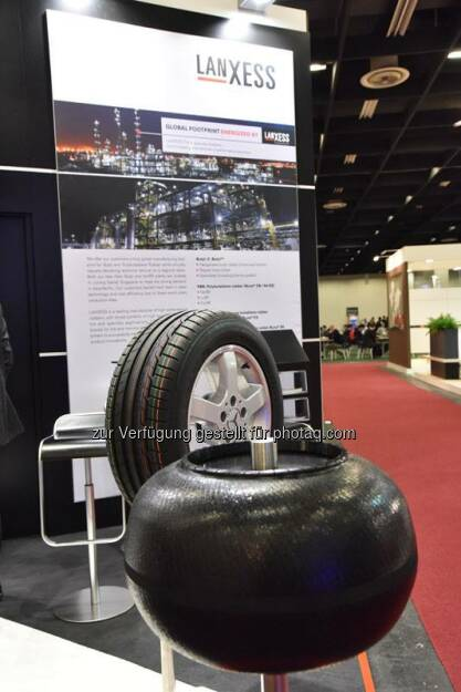What a day! First day of  #TireTechExpo2015 was absolutly succesful. We met a lot of customer and had the opportunity to showcase our product range to lots of visitors.  Join us at booth number 5120!  Source: http://facebook.com/LANXESS (11.02.2015)