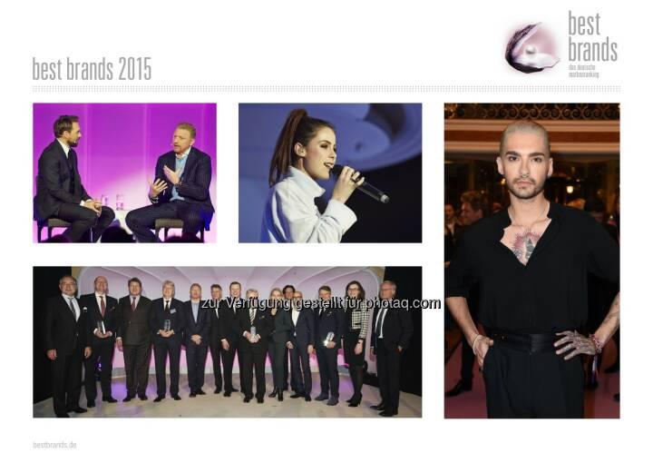 Serviceplan Gruppe: best brands 2015: Deutscher Marken-Oscar geht an Miele, Bose, Nike und Hugo Boss