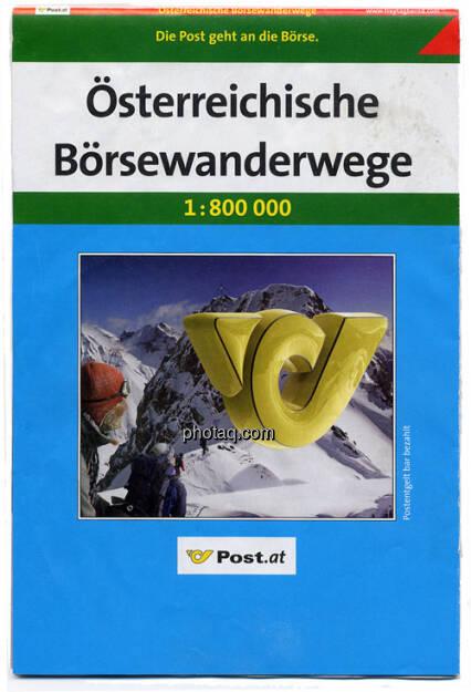 Österreichische Post, Österreichische Börsewanderwege, eine Erinnerung an das Post-IPO (14.02.2013)