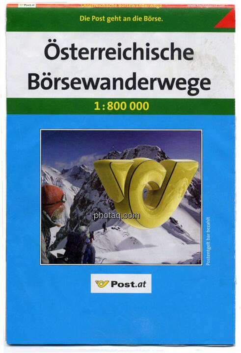 Österreichische Post, Österreichische Börsewanderwege, eine Erinnerung an das Post-IPO