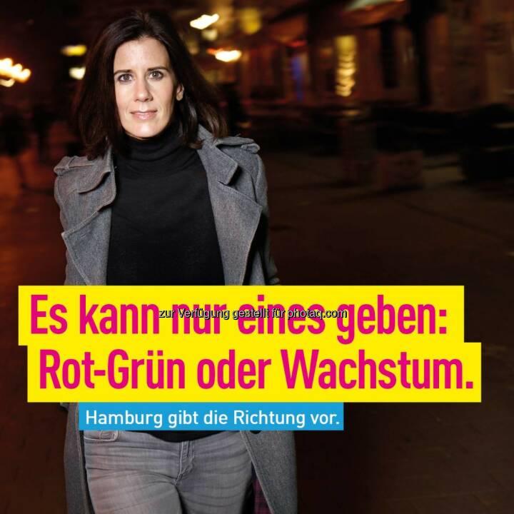 Katja Suding mit Richtung für Hamburg