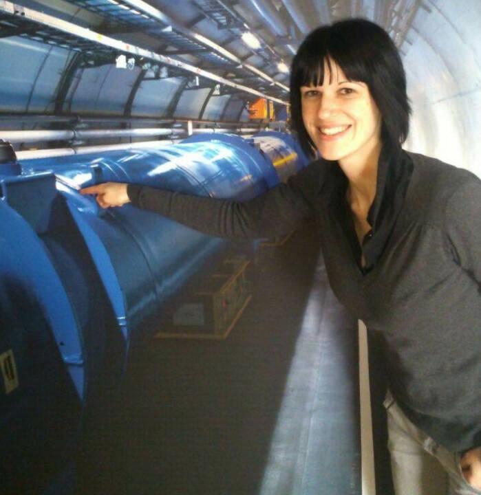 Zeigen CERN Katharina Schragl (mit freundlicher Genehmigung)