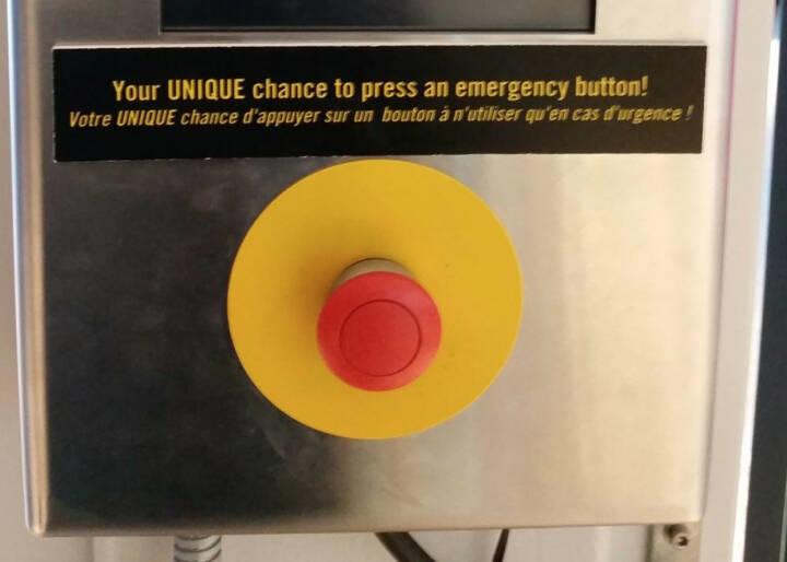 Notfallkopf, Emergency Button, Hilfe