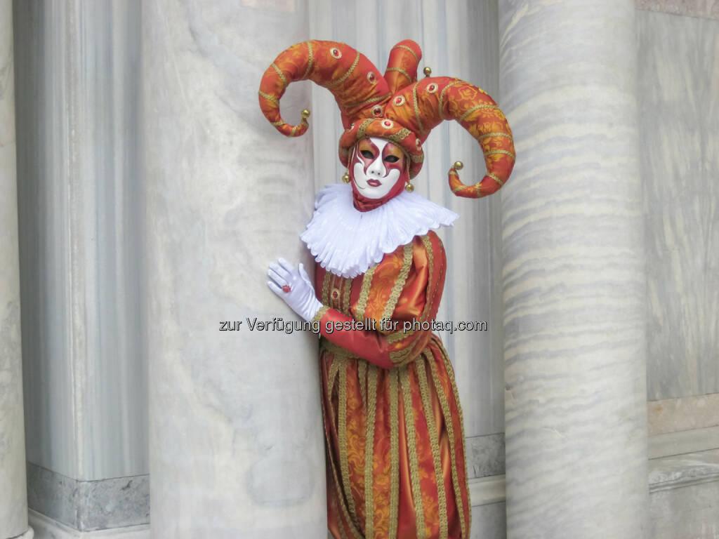 Karneval, Venedig, Maske, Verkleidung, Fasching, Clown, <a href=http://www.shutterstock.com/gallery-2791768p1.html?cr=00&pl=edit-00>Ammonite</a> / <a href=http://www.shutterstock.com/editorial?cr=00&pl=edit-00>Shutterstock.com</a>, Ammonite / Shutterstock.com (17.02.2015)