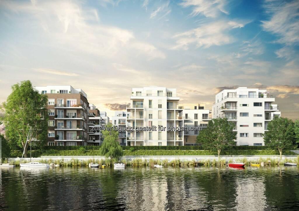 "Buwog Group: Baustart des Wohnquartiers ""Uferkrone"" in Berlin-Köpenick, © Aussendung (17.02.2015)"
