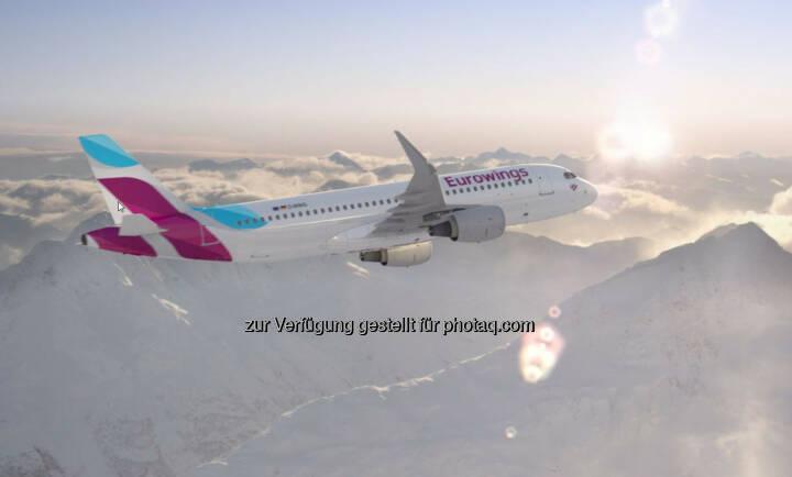 Wien wird erste Basis für die neue Eurowings außerhalb Deutschlands - Stationierung von zunächst zwei Airbus A320 ab Herbst 2015 – bereedert von Austrian Personal