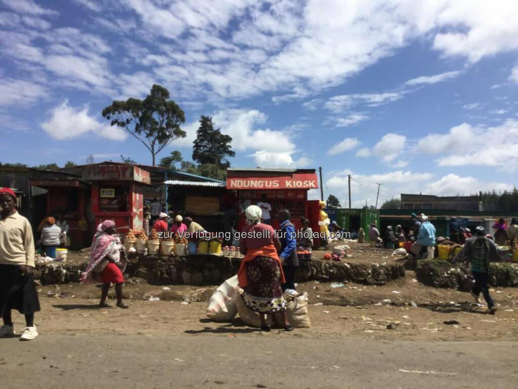 Kenia, Markt, Kiosk, © Thomas Kratky (18.02.2015)