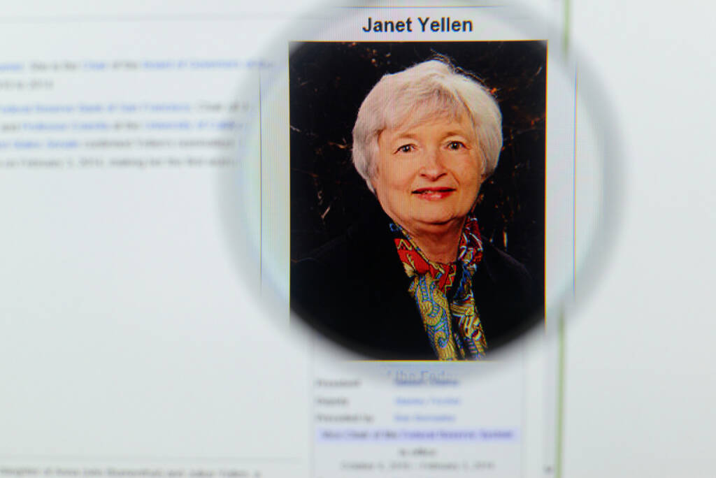 Janet Yellen, Federal Reserve, <a href=http://www.shutterstock.com/gallery-762415p1.html?cr=00&pl=edit-00>Gil C</a> / <a href=http://www.shutterstock.com/editorial?cr=00&pl=edit-00>Shutterstock.com</a>, Gil C / Shutterstock.com (19.02.2015)