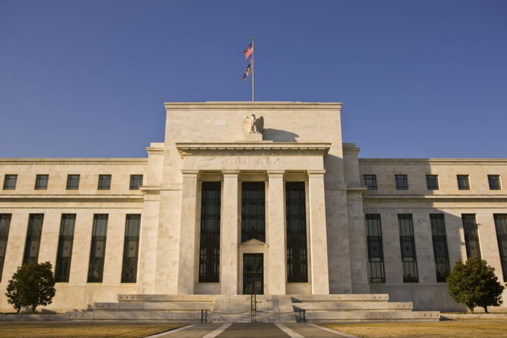 Federal Reserve, Amerikanische Zentralbank, <a href=http://www.shutterstock.com/gallery-2114807p1.html?cr=00&pl=edit-00>Rob Crandall</a> / <a href=http://www.shutterstock.com/editorial?cr=00&pl=edit-00>Shutterstock.com</a>, Rob Crandall / Shutterstock.com, © www.shutterstock.com (19.02.2015)