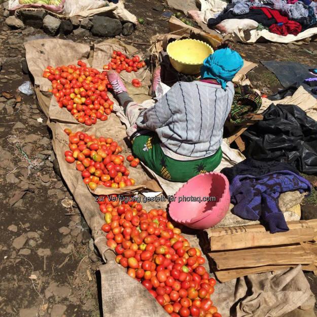 Kenia, Markt, Paradeiser, Tomaten, © Thomas Kratky (20.02.2015)