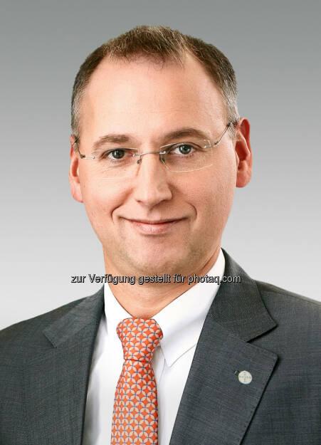 Werner Baumann, Finanzvorstand der Bayer AG übernimmt die Führung des Teilkonzerns Bayer HealthCare., © Aussender (20.02.2015)
