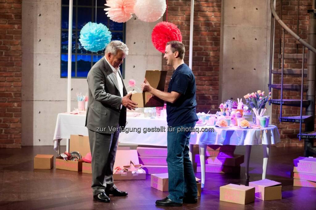 Hans Peter Haselsteiner, Partyboxes / Christoph Schantl, (C) Nick Albert, © Puls 4 (20.02.2015)