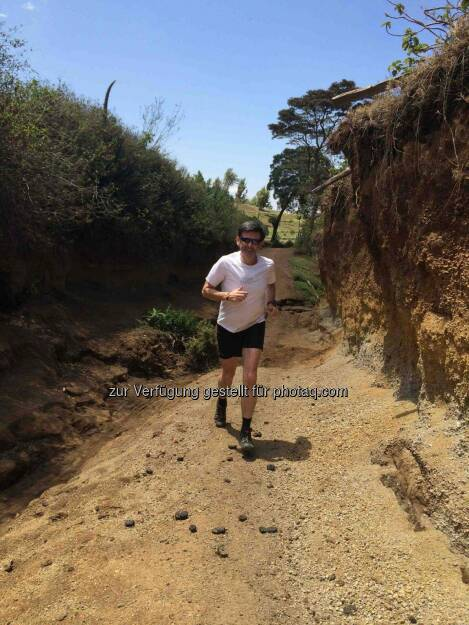 Thomas Kratky, Laufen in Kenia, © Thomas Kratky (21.02.2015)
