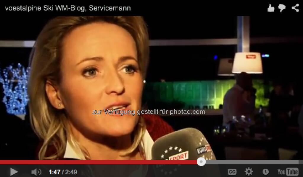 Alexandra Meissnitzer sagt, wie wichtig ihr Servicemann war http://voestalpine-wm-blog.at/2013/02/15/wie-wichtig-ist-der-service-mann/#.UR4-3I7aK_Q, &copy; <a href=