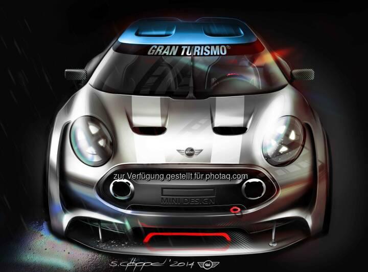 Mini Goes Gran Turismo® 6. Gamer können ab März den virtuellen MINI Clubman Vision Gran Turismo fahren.