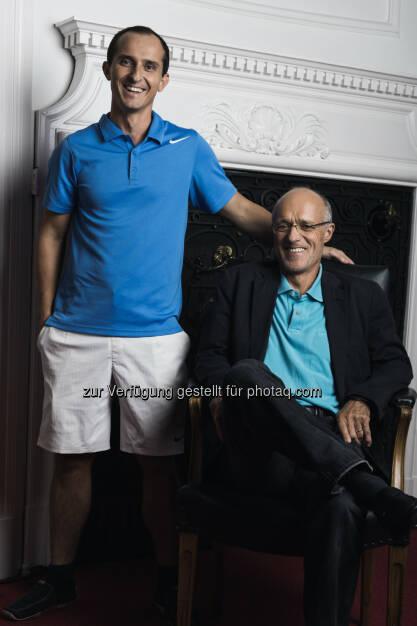 Toni Innauer und Michael Hoffmann (C) Manuel Tauber-Romieri, © Puls 4 (24.02.2015)