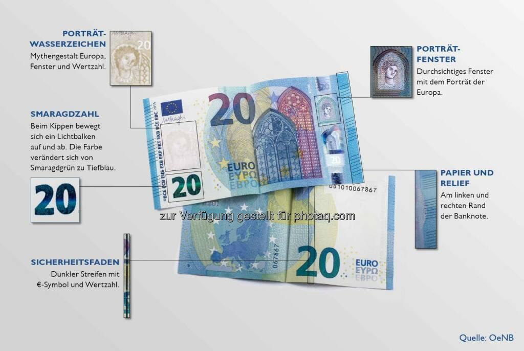 OeNB: 20 Euro Schein, © Aussender (24.02.2015)
