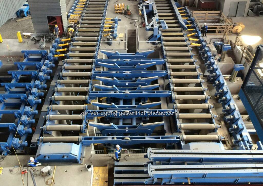 voestalpine: The runup phase for the new scarfing bay is in full swing at the Linz location of the Steel Division. Slabs of up to 2200 mm in width can now be processed. http://bit.ly/18gV6aK  Source: http://facebook.com/voestalpine, © Aussender (25.02.2015)