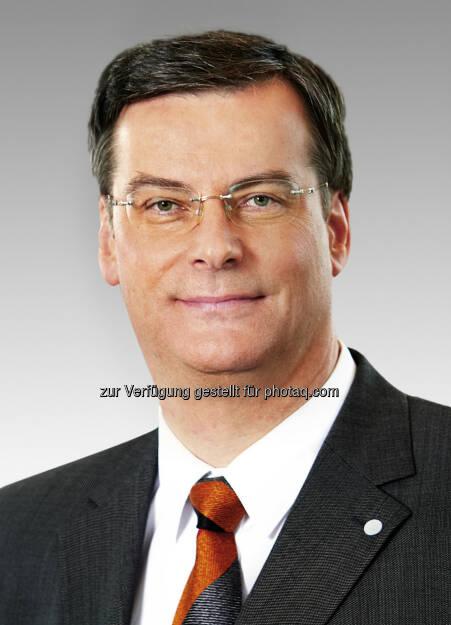 Richard Pott soll Aufsichtsratsvorsitzender von Bayer MaterialScience werden. (C) Bayer AG, © Aussender (25.02.2015)