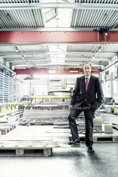 Jan Willem Jongert, CEO der Schwarzmüller Gruppe: Schwarzmüller 2014 um 37 Millionen Euro gewachsen