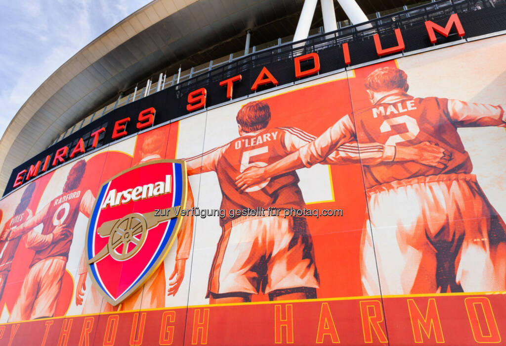 Arsenal, Fussball, Stadion, <a href=http://www.shutterstock.com/gallery-1581986p1.html?cr=00&pl=edit-00>Jason Batterham</a> / <a href=http://www.shutterstock.com/editorial?cr=00&pl=edit-00>Shutterstock.com</a>, Jason Batterham / Shutterstock.com, © www.shutterstock.com (25.02.2015)