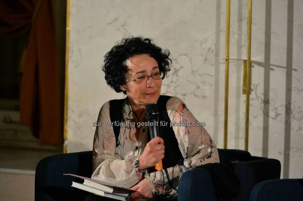 Philosophin Isolde Charim, © leisure.at/Oreste Schaller (25.02.2015)