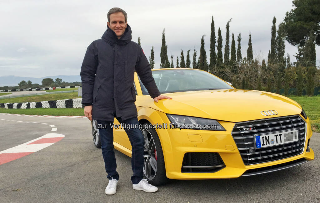 Grip-Moderator Matthias Malmedie mit dem Audi TTS Roadster: RTL II: Grip - Das Motormagazin: Der neue Audi TTS Roadster, © Aussendung (26.02.2015)
