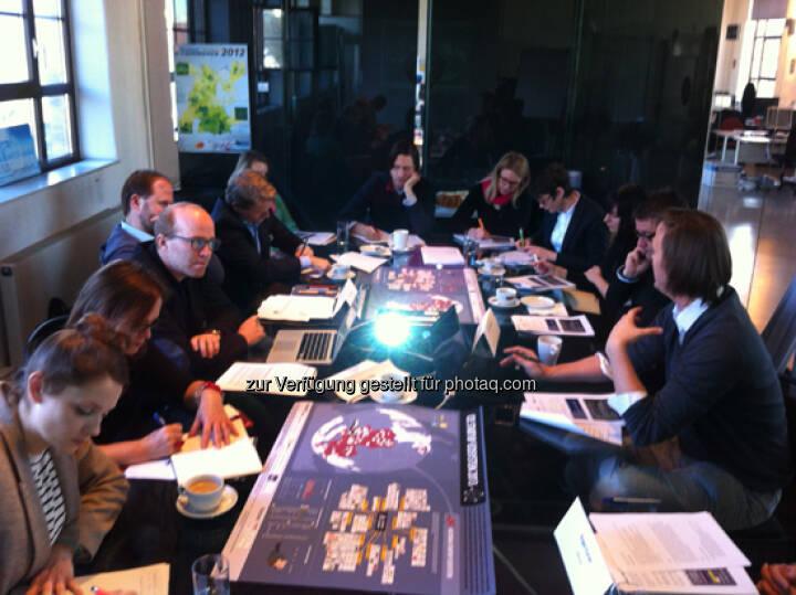 Making of mit Oliver Holle (Speedinvest, li.) und Markus Wagner (i5invest, re.)