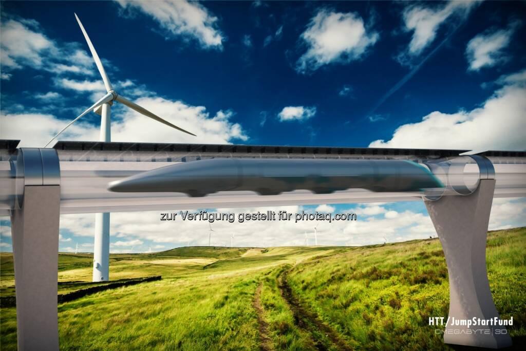 JumpStarter Inc: Erste Hyperloop Rohrbahn wird in Kalifornien gebaut, © Aussender (26.02.2015)