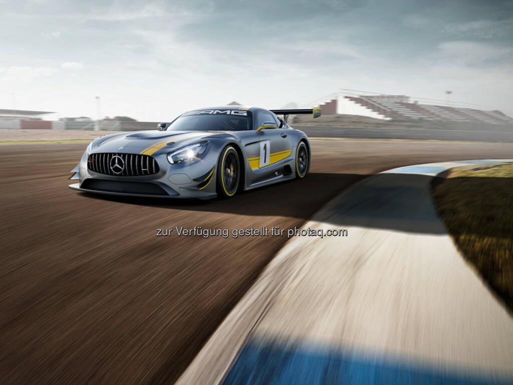Der neue Mercedes-AMG GT3 debütiert auf dem Genfer Automobilsalon , © Aussendung (27.02.2015)