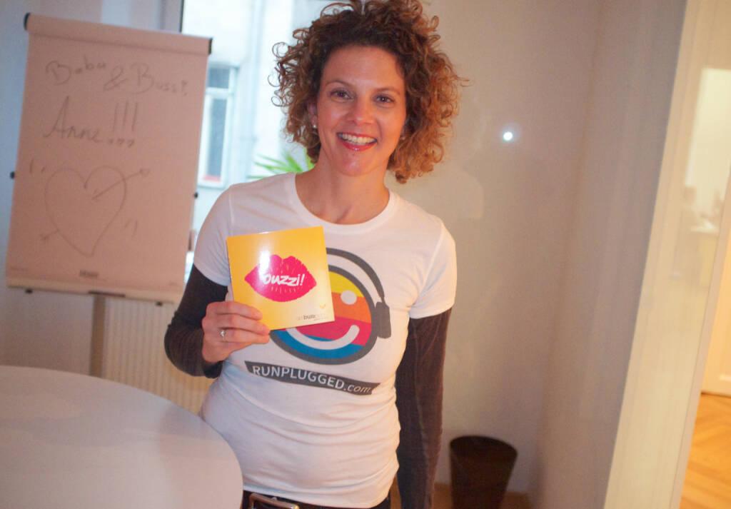 Karte Buzz - Sabine Hoffmann Ambuzzador für Runplugged (01.03.2015)
