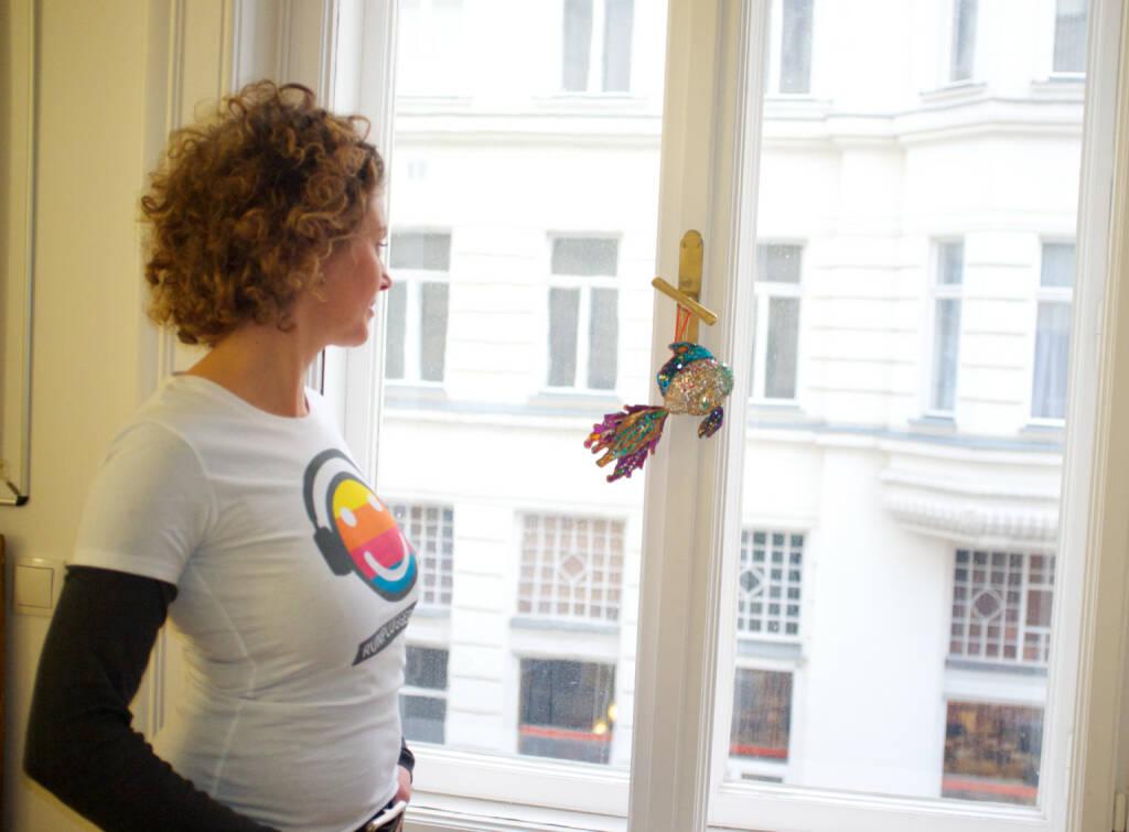 Blick Fenster - Sabine Hoffmann Ambuzzador für Runplugged (01.03.2015)