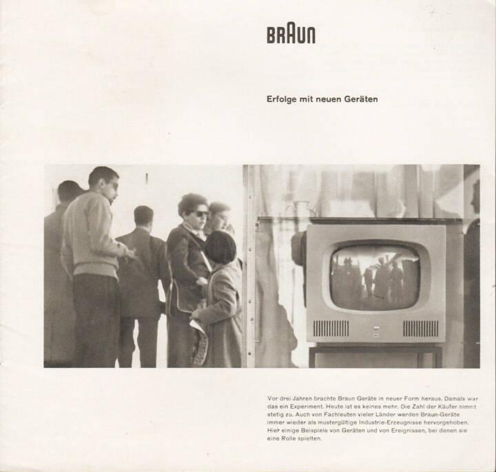 Braun - Erfolge mit neuen Geräten, Max Braun 1958, Cover - http://josefchladek.com/book/braun_-_erfolge_mit_neuen_geraten