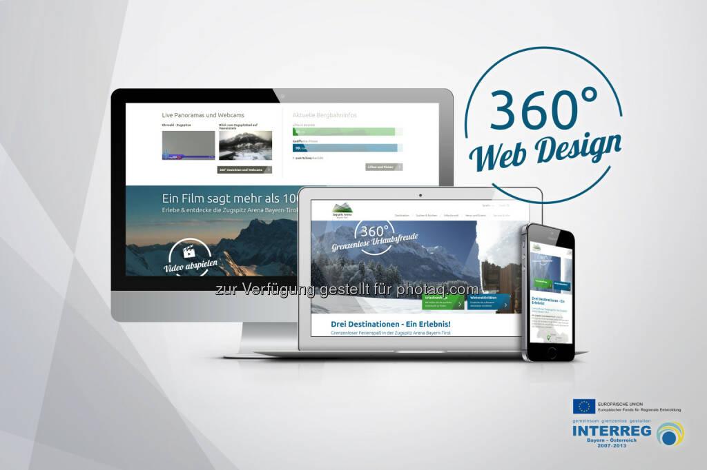 elements.at New Media Solutions GmbH: elements realisiert neue Website für Zugspitz Arena Bayern-Tirol, © Aussendung (04.03.2015)