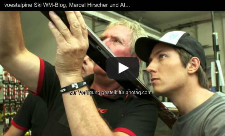 Marcel Hirscher und sein Ski http://voestalpine-wm-blog.at/2013/02/16/marcel-hirscher-und-sein-ski/#.UR_G4I7aK_Q
