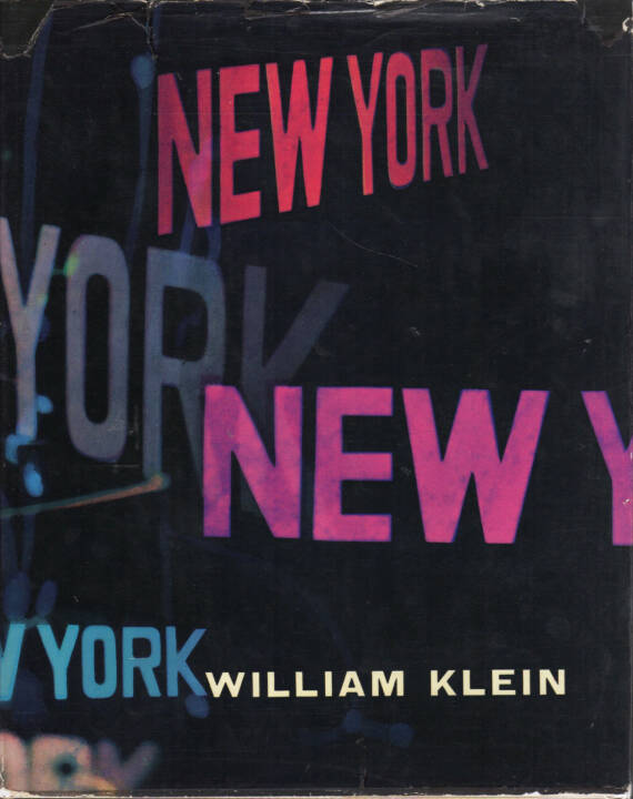 William Klein - Life Is Good and Good For You In New York: Trance Witness Revels, Giangiacomo Feltrinelli Editore 1956, Cover - http://josefchladek.com/book/william_klein_-_life_is_good_and_good_for_you_in_new_york_trance_witness_revels