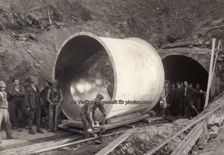 Ein Streifzug durch das VERBUND-Bildarchiv: 1924 arbeitete man intensiv am Wasserstollen für das Kraftwerk Arnstein in der Steiermark. Mehr zum Kraftwerk unter www.verbund.com/arnstein  Source: http://facebook.com/verbund